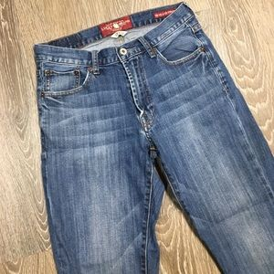 Lucky Brand 181 Relaxed Straight Jeans 29x32
